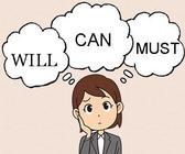 転職で重要なWILL、CAN、MUSTとは?